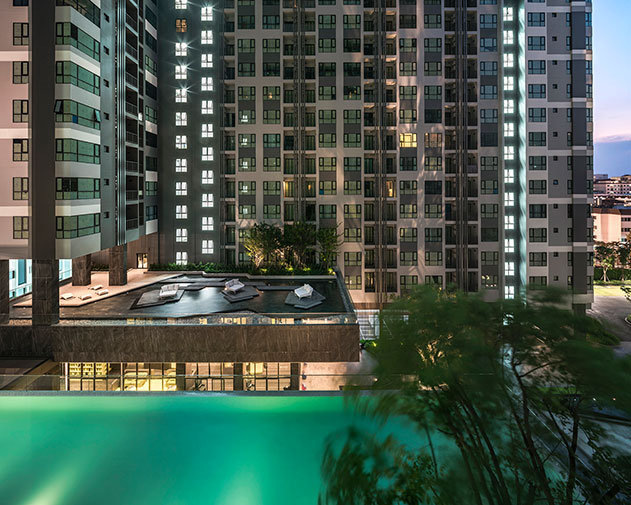 2 Bedroom @ the Base Central Pattaya for sale