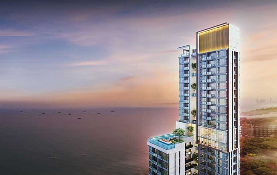 Andromeda 2 bed. unit for sale floor 23